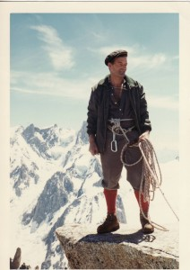 Many years ago in the Alps